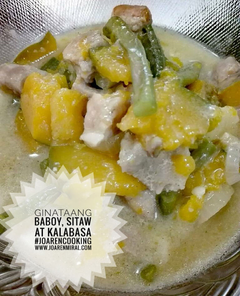 how to cook nilagang baboy with kalabasa